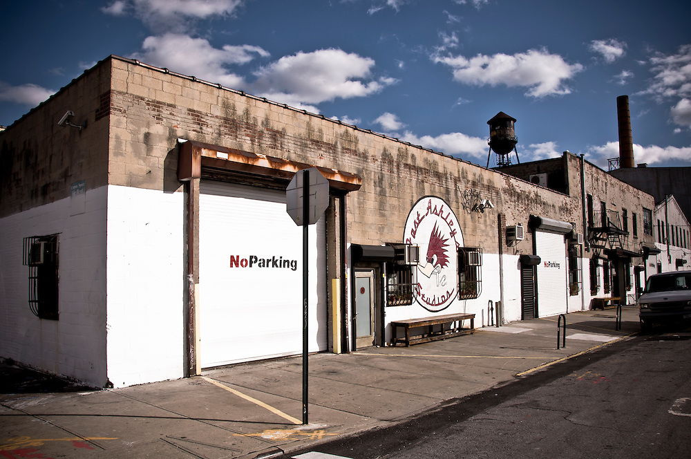 Studios in an old warehouse located in Williamsburg, Brooklyn, New York, 2009.
