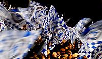 Photo: Alan Crowhurst.<br />Chelsea v FC Porto. UEFA Champions League. Last 16, 2nd Leg. 06/03/2007. Chelsea fans celebrate victory.