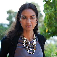 """Jhumpa Lahiri at """"Le Conversazioni"""" Capri, Italy<br /> 30th June 2013<br /> <br /> Photograph by Steve Bisgrove/Writer Pictures<br /> <br /> WORLD RIGHTS"""