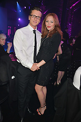 RITCHIE NEVILLE and NATASHA HAMILTON at The London Cabaret Club Gala Launch Party at The Collection, 264 Brompton Road, London on 8th May 2014.