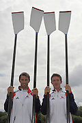 Reading, Great Britain, GBR LM2X Mark HUNTER and Adam FREEMAN-PASK. 2011 GBRowing World Rowing Championship, Team Announcement.  GB Rowing  Caversham Training Centre.  Tuesday  19/07/2011  [Mandatory Credit. Peter Spurrier/Intersport Images]