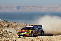 MOTORSPORT - WRC 2010 - JORDAN RALLY - 31/03 TO 03/04/2010 - DEAD SEA (JOR) - PHOTO : FRANCOIS BAUDIN / DPPI - <br /> PETTER SOLBERG (NOR) / PHIL MILLS (GBR) - PETTER SOLBERG WRT - CITROEN C4 WRC - ACTION