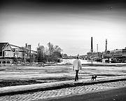 Life at the old docks of Ghent. Photo © Christophe Vander Eecken