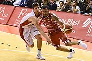 Moore Dallas<br /> Grissin Bon Pallacanestro Reggio Emilia - VL Pesaro<br /> Lega Basket Serie A 2017/2018<br /> Reggio Emilia, 08/10/2017<br /> Foto A.Giberti / Ciamillo - Castoria