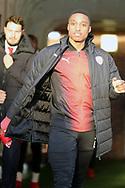Barnsley forward Victor Adeboyejo (29)  during the EFL Sky Bet League 1 match between Barnsley and Charlton Athletic at Oakwell, Barnsley, England on 29 December 2018.