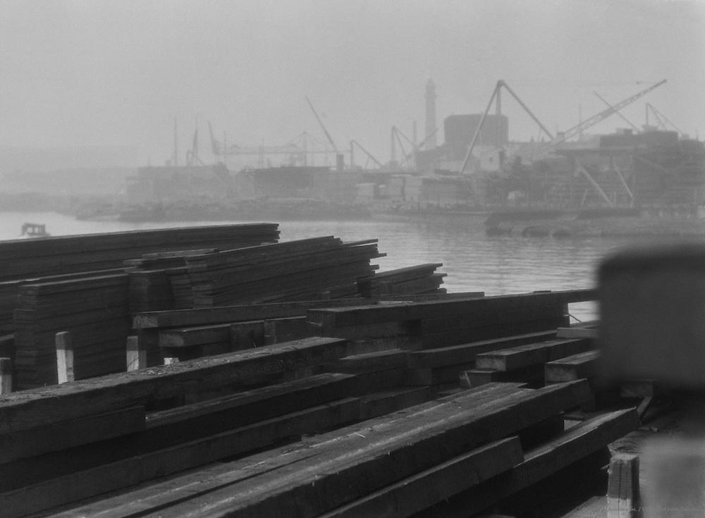 Sydney Harbour View, Australia,1930