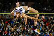 Mirela Demireva (Bulgaria) Women's High Jump during the IAAF Diamond League event at the King Baudouin Stadium, Brussels, Belgium on 6 September 2019.