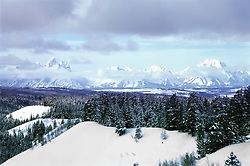 Jackson Hole, Grand Tetons, Winter, Togwotee Pass