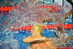César Cielo comemora conquista da medalha de ouro e bate recorde nos 100m livre dos jogos Pan-Americanos de Guadalajara 2011. FOTO: Jefferson Bernardes/Preview.com