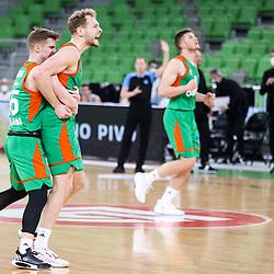 20210302: SLO, Basketball - EuroCup 2020/21, KK Cedevita Olimpija vs Virtus Segafredo Bologna