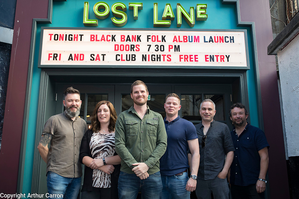 26/6/19 The Black Bank Folks new album Last Star Fall, at Lost Lane, Dublin, available in store and online from June 28th. Picture: Arthur Carron