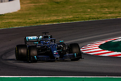 February 28, 2019 - Montmelo, BARCELONA, Spain - Valtteri Bottas fo Finland with 77 of Mercedes AMG Petronas Motorsport W10 in action   during the Formula 1 2019 Pre-Season Tests at Circuit de Barcelona - Catalunya in Montmelo, Spain on February 28. (Credit Image: © AFP7 via ZUMA Wire)