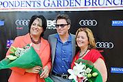 Tammy Haddad, Tim Daly and Hillary Rosen