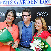 Tammy Haddad, Tim Daly and Hillary Rosen