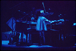 "Yes Performing Live in Concert ""In The Round"" at the New Haven Coliseum Connecticut on 4 September 1978. Band Members this Tour: Jon Anderson, Steve Howe, Chris Squire, Alan White & Rick Wakeman"