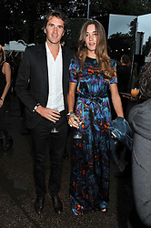 OTIS FERRY and FRANCESCA NIMMO at the annual Serpentine Gallery Summer Party sponsored by Burberry held at the Serpentine Gallery, Kensington Gardens, London on 28th June 2011.