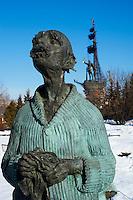 Russie, Moscou, parc des sculptures // Russia, Moscou, Sculptures Park