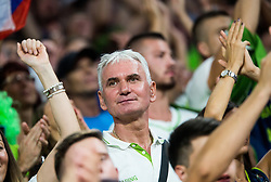 Marinko Dragic, father of Goran Dragic of Slovenia during the Final basketball match between National Teams  Slovenia and Serbia at Day 18 of the FIBA EuroBasket 2017 at Sinan Erdem Dome in Istanbul, Turkey on September 17, 2017. Photo by Vid Ponikvar / Sportida