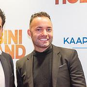 NLD/Amsterdam/20151207- Filmpremiere Bon Bini Holland, kapper Hanni Hanna en Demy de Zeeuw