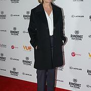 London, England, UK. 21th September 2017. Michelle Schumacher Director of Raindance Film Premiere of 'I'm Not Here', starring J.K. Simmons