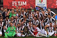 Juventus vince la coppa Italia <br /> Juventus wins the trophy <br /> Roma 17-05-2017 Stadio Olimpico Finale Coppa Italia 2016/2017 Juventus - Lazio Foto Andrea Staccioli / Insidefoto