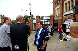 Bristol Rovers fans outside Craven Cottage  - Mandatory by-line: Dougie Allward/JMP - 22/08/2017 - FOOTBALL - Craven Cottage - Fulham, England - Fulham v Bristol Rovers - Carabao Cup