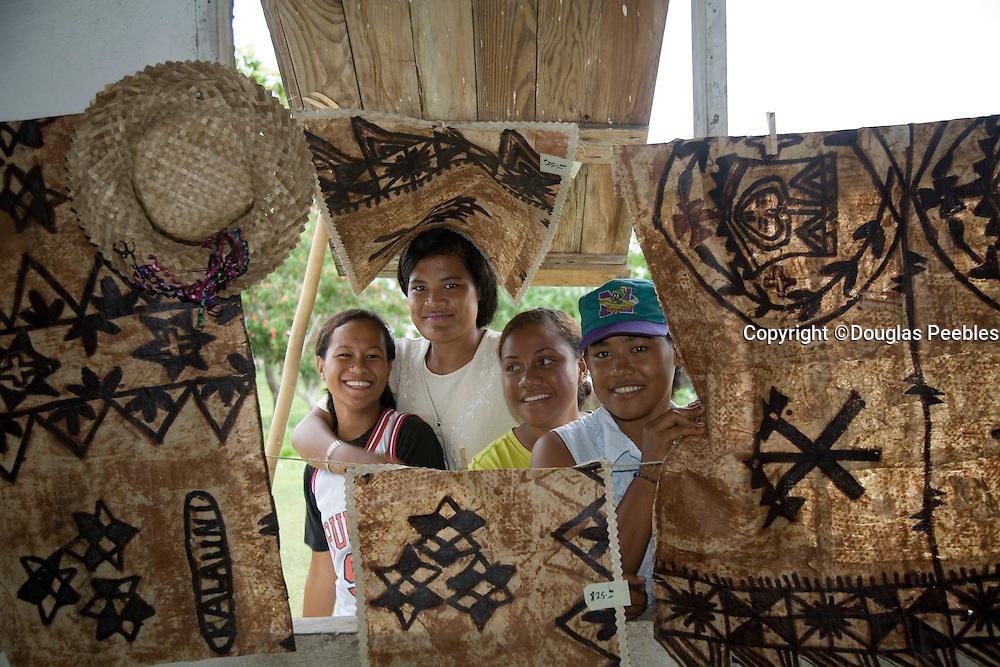 Tapa cloth, Niuatoputapu, Tonga