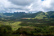 The mountains of central Laos, along National Highway 13.
