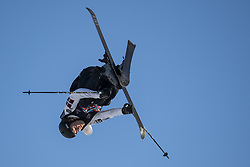 May 19, 2018 - Fornebu, NORWAY - 180519 Birk Ruud of Norway competes in the men's big air ski finals during X Games Norway on May 19, 2018 in Oslo. .Photo: Vegard Wivestad Grøtt / BILDBYRÃ…N / kod VG / 170170 (Credit Image: © Vegard Wivestad GrØTt/Bildbyran via ZUMA Press)