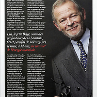 USE ARROWS ← → on your keyboard to navigate this slide-show<br /> <br /> Lobby Magazine - Belgium<br /> Portrait of Jean-Pierre Hansen, CEO Tractebel, published in 2008.<br /> Photo: Ezequiel Scagnetti