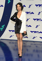 August 27, 2017 - Inglewood, California, U.S. - Liza Koshy arrives for the 2017 MTV Video Music Awards at The Forum. (Credit Image: © Lisa O'Connor via ZUMA Wire)