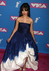 August 20, 2018 - New York City, New York, U.S. - Singer CAMILA CABELLO attends the arrivals for the 2018 MTV 'VMAS' held at Radio City Music Hall. (Credit Image: © Nancy Kaszerman via ZUMA Wire)