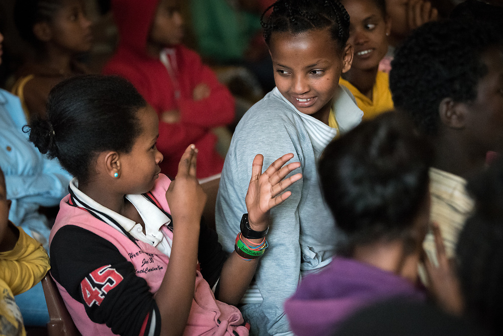 31 January 2019, Southern Nations, Nationalities, and Peoples' Region, Ethiopia: In Hossana, the Ethiopian Evangelical Church Mekane Yesus runs a school for deaf children, giving access to education to hundreds of children who may otherwise have been at risk of marginalization.