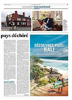 le JDD, story about Brexit, October 2019. Article sur le Brexit pour le Journal Du Dimanche avec Antoine Malo.