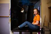 Karenina van den Crommenacker, een van de makers Installation48, een project waarin vier duo's in 48 dagen een interactieve installatie moeten maken dat 48 uur te zien is.