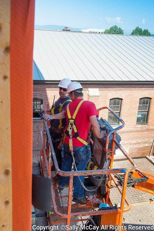 Burlington Hilton Garden Construction Project, June 2014