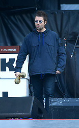 Liam Gallagher performs at the London Stadium in London. PRESS ASSOCIATION Photo. Picture date: Tuesday May 22, 2018. Photo credit should read: Ian West/PA Wire