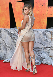 Olivia Buckland attending the European premiere of Rampage, held at the Cineworld in Leicester Square, London. Photo credit should read: Doug Peters/EMPICS Entertainment
