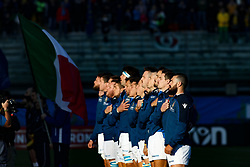 November 17, 2018 - Padova, Padova, Italy - Italy during the Test Match 2018 between Italy and Australia at Stadio Euganeo on November 17, 2018 in Padova, Italy. (Credit Image: © Emmanuele Ciancaglini/NurPhoto via ZUMA Press)