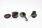 Persian Period bronze wine drinking vessels