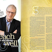 Costco Connection story on Sir Ken Robinson.