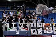 DESCRIZIONE : Pesaro Lega A 2011-12 Scavolini Siviglia Pesaro Canadian Solar Bologna<br /> GIOCATORE : tifosi<br /> CATEGORIA : tifosi curva<br /> SQUADRA : Canadian Solar Bologna<br /> EVENTO : Campionato Lega A 2011-2012<br /> GARA : Scavolini Siviglia Pesaro Canadian Solar Bologna<br /> DATA : 08/01/2012<br /> SPORT : Pallacanestro<br /> AUTORE : Agenzia Ciamillo-Castoria/C.De Massis<br /> Galleria : Lega Basket A 2011-2012<br /> Fotonotizia : Pesaro Lega A 2011-12 Scavolini Siviglia Pesaro Canadian Solar Bologna<br /> Predefinita :