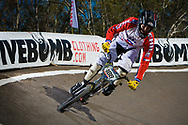 # 188 (MENDEZ Sebastian) CHI at the UCI BMX Supercross World Cup in Santiago del Estero, Argintina.