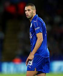 Islam Slimani of Leicester City  - Mandatory by-line: Matt McNulty/JMP - 27/09/2016 - FOOTBALL - King Power Stadium - Leicester, England - Leicester City v FC Porto - UEFA Champions League