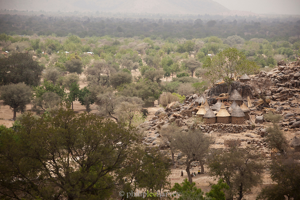 The village of Djinglya in the north of Cameroon