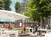 Venice, Biennale Architettura: lunch ai Giardini
