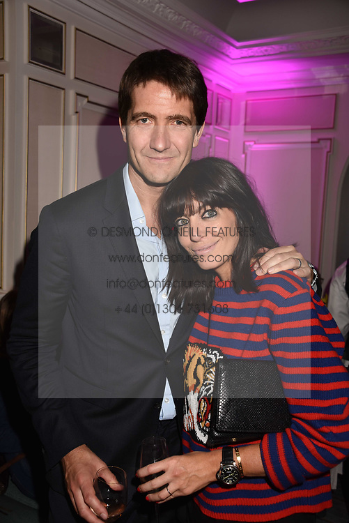 Kris Thykier and Claudia Winkleman at the 2017 Fortnum & Mason Food & Drink Awards held at Fortnum & Mason, Piccadilly London England. 11 May 2017.<br /> Photo by Dominic O'Neill/SilverHub 0203 174 1069 sales@silverhubmedia.com