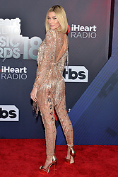 Hailey Rhode Baldwin attends the 2018 iHeartRadio Music Awards at the Forum on March 11, 2018 in Inglewood, California. Photo by Lionel Hahn/AbacaPress.com