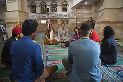 The Duke and Duchess of Sussex during a visit to Auwal Mosque, the oldest mosque in South Africa, on day two of their tour of Africa. PA Photo. Picture date: Tuesday September 24, 2019. See PA story ROYAL Tour . Photo credit should read: Tim Rooke/PA Wire