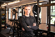 May0090689 . DailyTelegraph<br /> <br /> DT Weekend<br /> <br /> His-and-Hers Midlife Fitness makeovers<br /> <br /> Anna and Tony Moore have been put on a six week training programme by personal trainer to the stars Matt Roberts .<br /> <br /> London 22 July 2019
